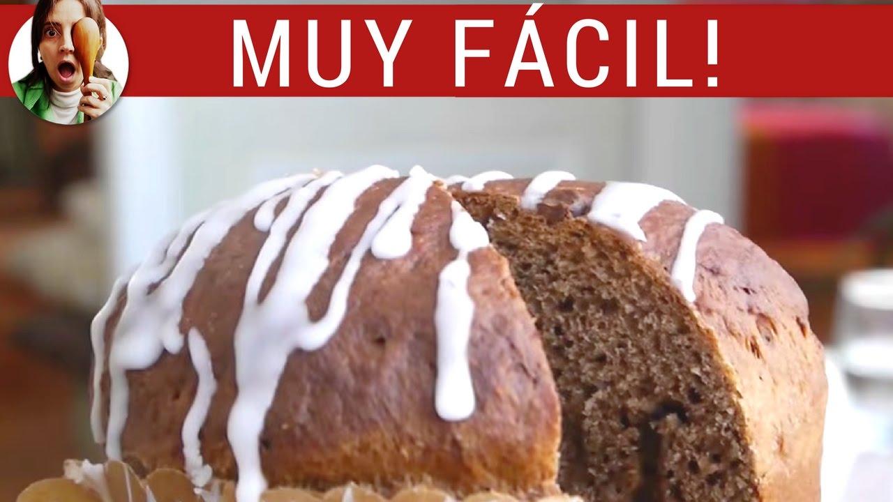 Receta de pan dulce de CHOCOLATE / Cómo hacer pan dulce fácil  - Paulina Cocina