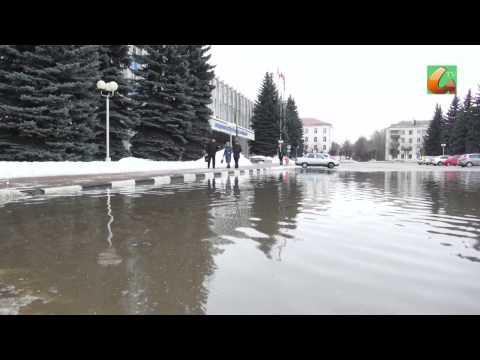 Серпухов ушел под воду