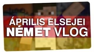 Április elsejei német vlog | Minecraft | CsChannel