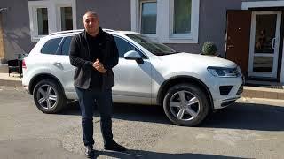 Завершили подбор Volkswagen Touareg с автокредитом,отзыв Максима