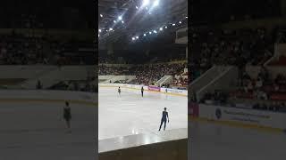 Евгения Медведева Открытые прокаты сборной России по фигурному катанию Разминка