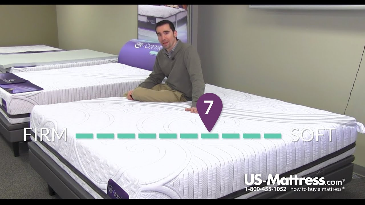 Serta Icomfort Savant Iii Plush Mattress Expert Review Youtube