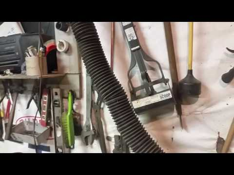 Metal recycling shop tool essentials:  Small dust collector
