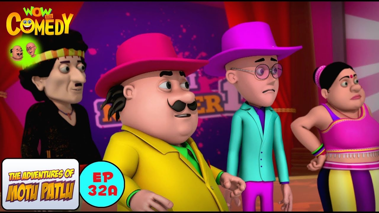 Dance Competition Motu Patlu In Hindi 3d Animated Cartoon Series