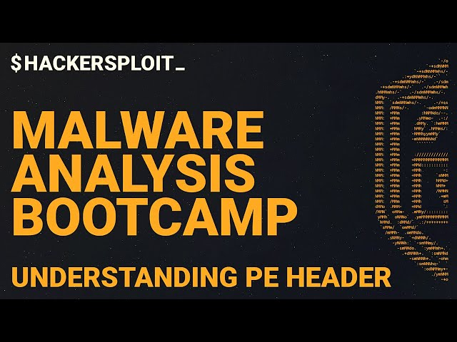 Malware Analysis Bootcamp - Understanding The PE Header