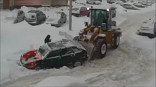 HOW NOT TO DRIVE IN THE SNOW