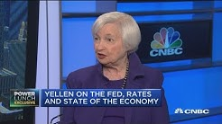 Fmr. Fed Chair Janet Yellen on the state of the U.S. Economy