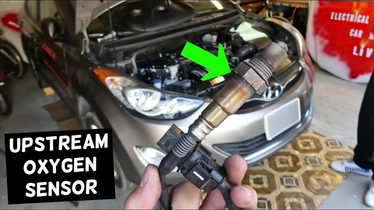 How To Replace Upstream Oxygen Sensor On Hyundai Elantra