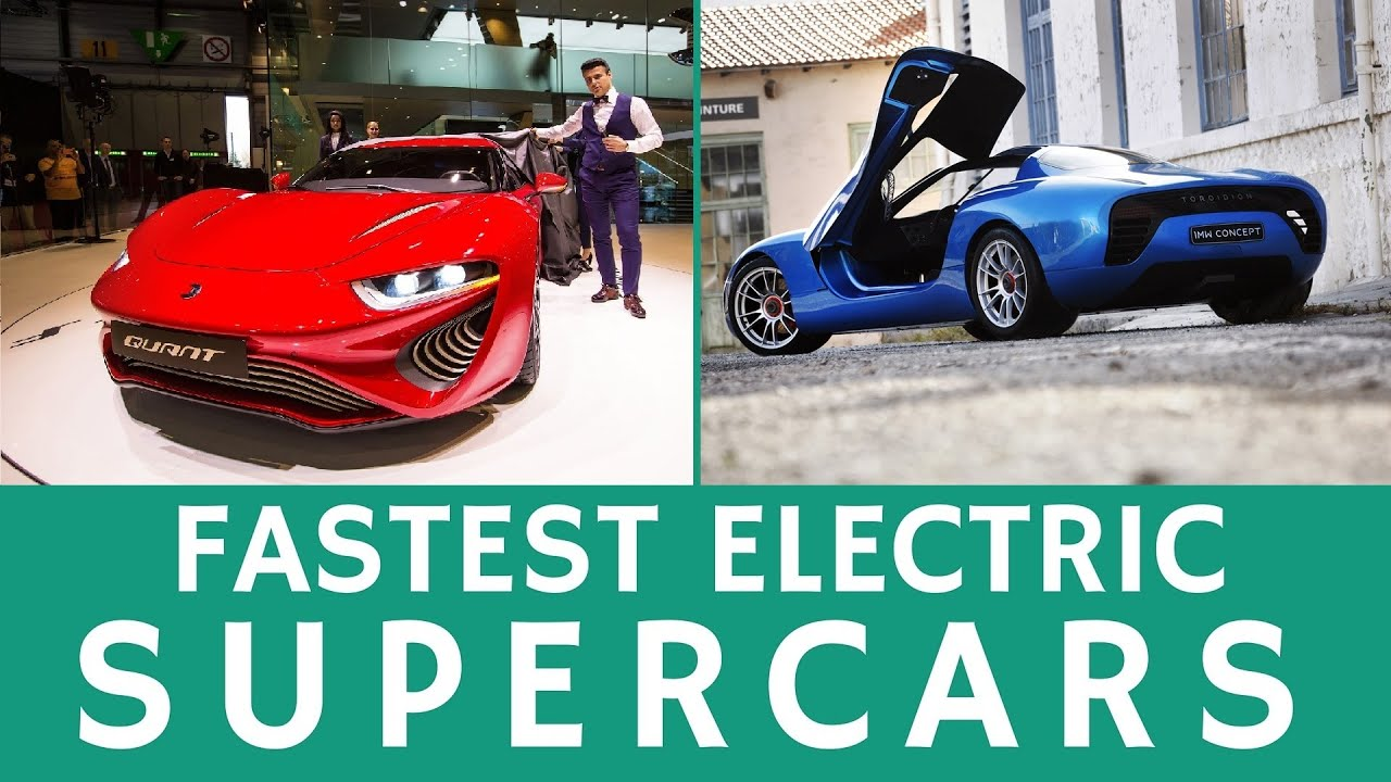 Fastest All-Electric Supercars & Custom Concept EVs of 2015-2016