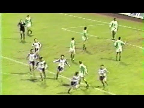 ASSE 1-4 Toulouse - 32e journée de D1 1990-1991