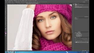 Быстрая ретушь портрета в Photoshop