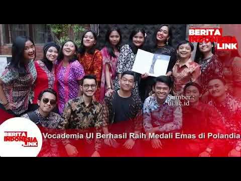 Vocademia Universitas Indonesia berhasil raih medali Emas di Polandia.