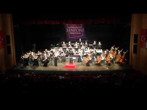 Ceren Çelik plays Morceau de Concert for Horn and Orchestra op.94 by Camille Saint-Saens