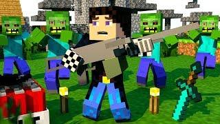 ЗОМБИ АПОКАЛИПСИС В МАЙНКРАФТ! ЭТО КОНЕЦ СВЕТА?! ВЫЖИВАНИЕ В МАЙНКРАФТ! - (Minecraft - Сериал)