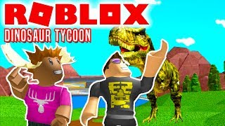 WHERE ARE THE DINOS, MOOSE! -Roblox Dinosaur Tycoon English