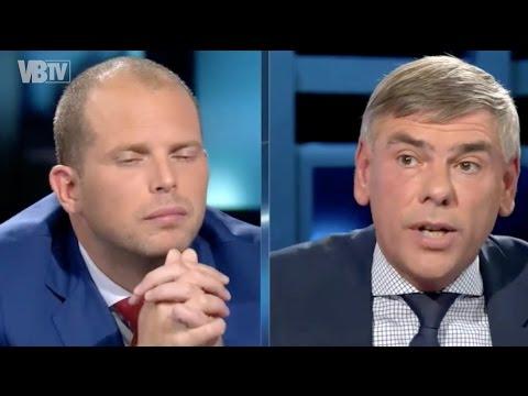 Filip Dewinter in debat met Theo Francken