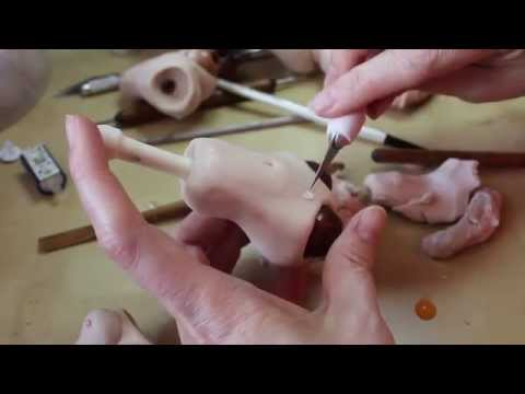 Sculpting a Ball-Jointed Doll Torso (BJD) from Polymer Clay - http://www.makingfairies.com/