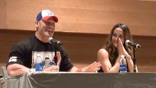 John Cena Tells Hilarious Dirty Joke To Young Kid
