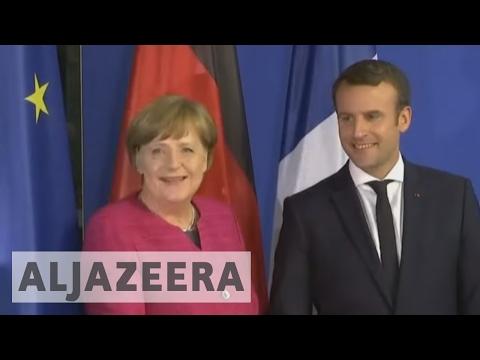 Macron and Merkel vow to reform European Union