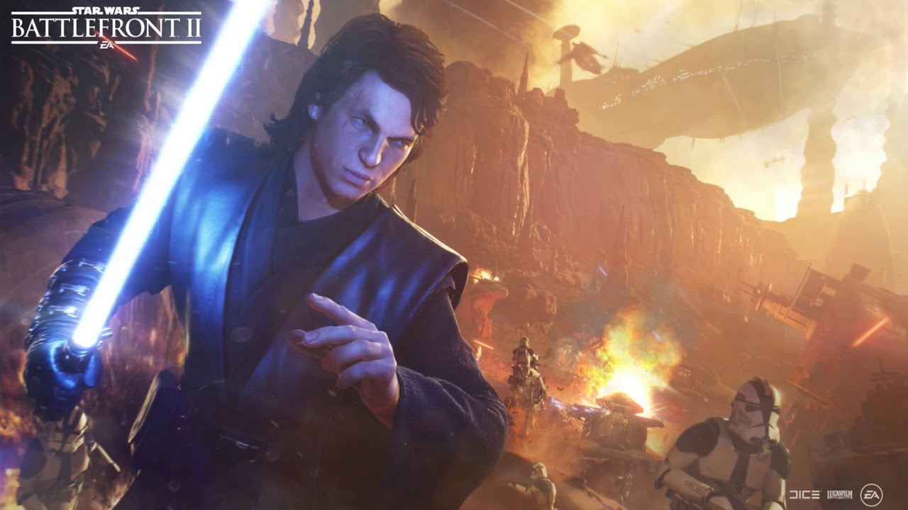 Anakin Skywalker Capital Supremacy Promotional Art Star Wars Live Wallpaper Youtube