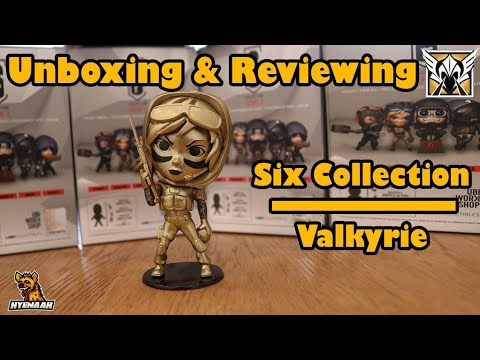 R6 Real Life Gold Valkyrie Chibi Figure - Unboxing and Reviewing Six  Collection (Series 2)