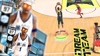 NBA 2k17 MyTeam - Diamond Limitless Range Sharpshooter Splash By Half Court! We Might Lose This One!