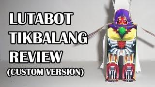 Custom Lutabot Tikbalang (Foldabots Review Show)