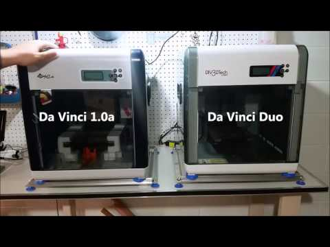 XYZprinting Da Vinci 1 0a 3D Printer Blue - Thoughts and Unboxing