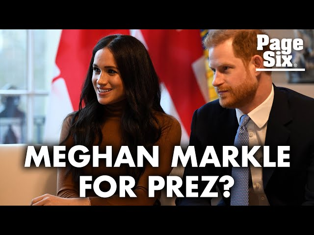 Meghan Markle reportedly has serious ambitions to run for president | Page Six Celebrity News
