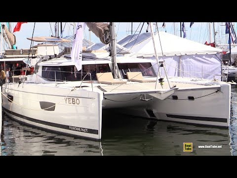 2017 Fountaine Pajot Helia 44 Evolution Catamaran - Walkaround 2017 - Annapolis Boat Show