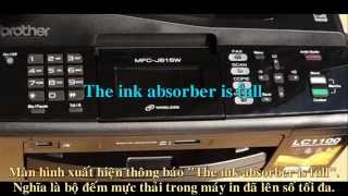 Reset Ink Absorber is Full Brother MFC-J615W