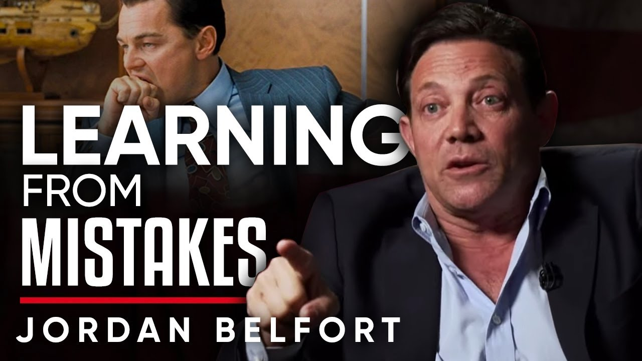 THE LESSONS I LEARNED FROM MY PAST - Jordan Belfort | London Real