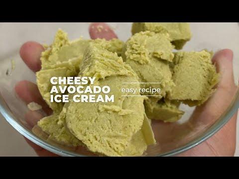 How to make cheesy avocado ice cream