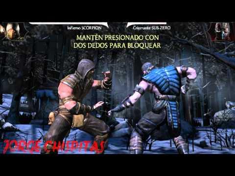 Mortal Kombat X android tutorial