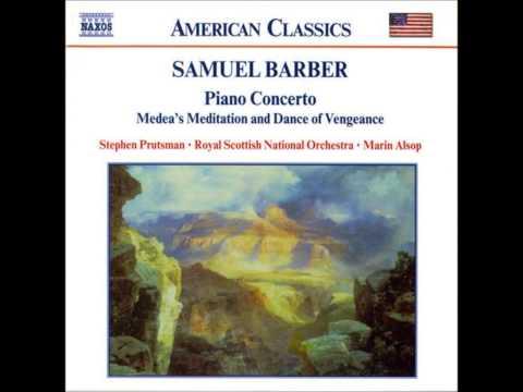 Barber Piano Concerto