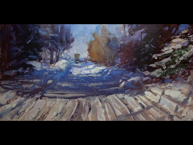 The Snowy Way, Paint!