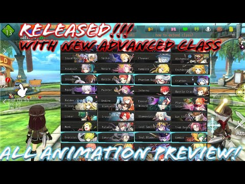 Avabel Lupinus - Released! Avabel Chibi! All New 48 Advanced Class Skill Animation Preview! MMORPG