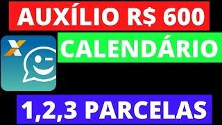 DÚvidas Do CalendÁrio Da 1,2 E 3 Parcela Do Auxilio Emergencial 600