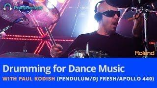 Drumming for Dance Music - New Online Course by Paul Kodish (PendulumDJ FreshApollo 440)