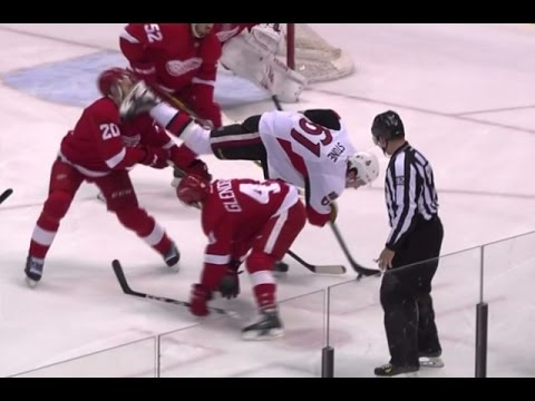Red Wings' Drew Miller Takes Skate to Face, Almost Loses Eye