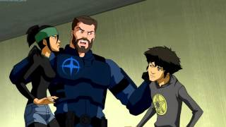 Young Justice Invasion Runaways Clip 2