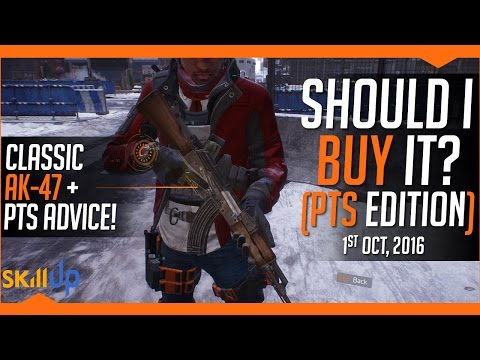 The Division | Weekly Vendor Reset (1st  Oct) Feat. Classic AK-47 and PTS info!