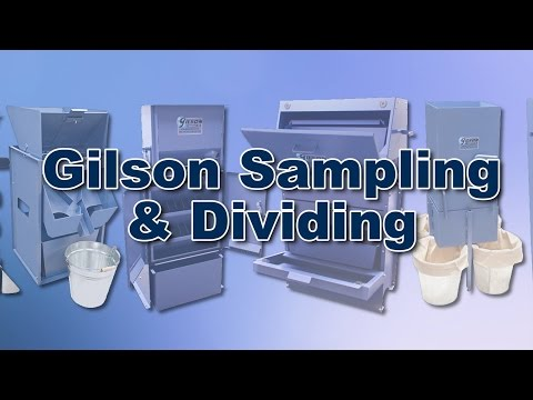 Gilson Material Sampling & Dividing Equipment