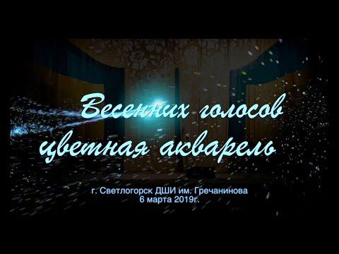 Концерт посвященный 8 марта. ДШИ им. Гречанинова А.Т. Светлогорск
