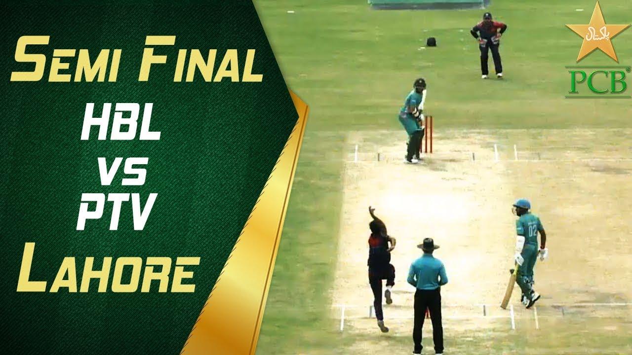 HBL Update: 2nd Semi Final: HBL Vs PTV, Gaddafi Stadium, Lahore