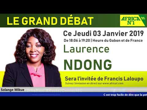 """Emission """"Le Grand Débat"""" avec Françis Laloupo - Jeudi 03 Janvier 2019"""