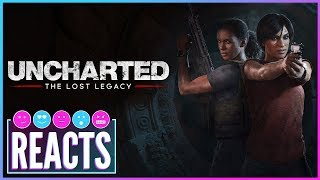 Uncharted: The Lost Legacy Review - Kinda Funny Games Reacts