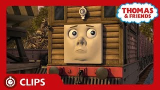 Everyone Thinks Toby Will Be Scrapped | Clips | Thomas & Friends