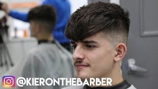 HEAVY TEXTURED CROP SKIN FADE || HOW TO HAIR TUTORIAL || KIERON THE BARBER