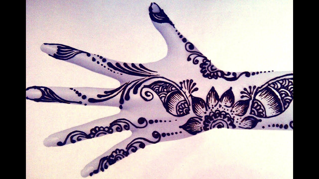 Quick Mehndi Patterns : Quick arabic mehandi mehndi mehendi design youtube
